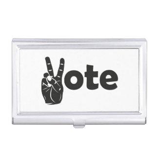 Illustrations-Abstimmung für Frieden Visitenkarten Dose