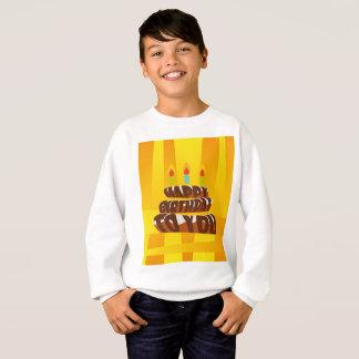 Illustrations-alles- Gute zum Geburtstagkuchen mit Sweatshirt