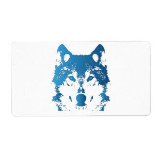 Illustrations-Eis-Blau-Wolf