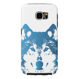 Illustrations-Eis-Blau-Wolf