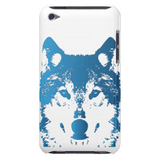 Illustrations-Eis-Blau-Wolf Case-Mate iPod Touch Case