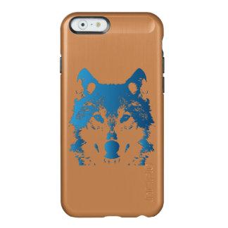 Illustrations-Eis-Blau-Wolf Incipio Feather® Shine iPhone 6 Hülle