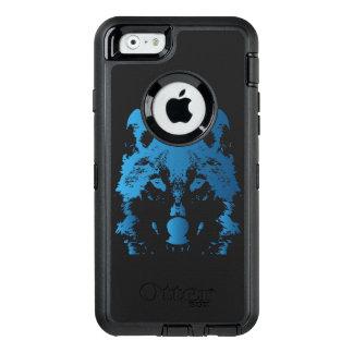 Illustrations-Eis-Blau-Wolf OtterBox iPhone 6/6s Hülle