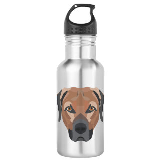 Illustrations-Hund Brown Labrador Trinkflasche