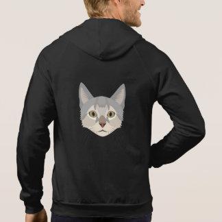 Illustrations-Katzen-Gesicht Hoodie