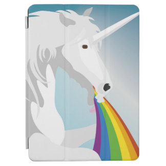 Illustrations-kotzende Einhörner iPad Air Hülle
