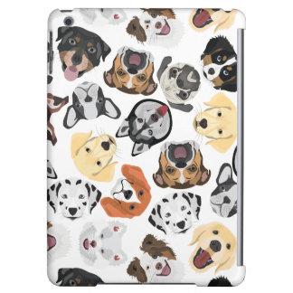 Illustrations-Muster-Hunde