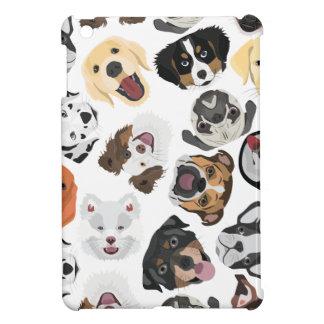 Illustrations-Muster-Hunde iPad Mini Hülle