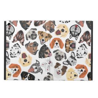 Illustrations-Muster-süße inländische Hunde