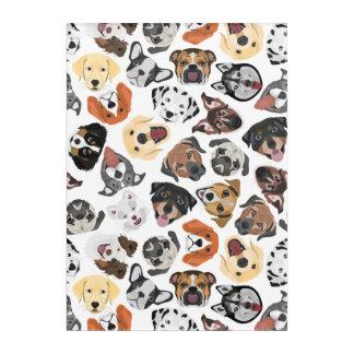 Illustrations-Muster-süße inländische Hunde Acryldruck