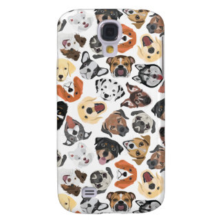 Illustrations-Muster-süße inländische Hunde Galaxy S4 Hülle