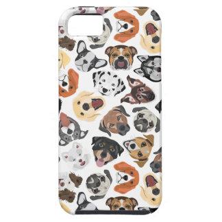 Illustrations-Muster-süße inländische Hunde Hülle Fürs iPhone 5