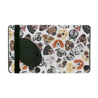 Illustrations-Muster-süße inländische Hunde iPad Schutzhüllen