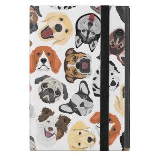 Illustrations-Muster-süße inländische Hunde Schutzhülle Fürs iPad Mini
