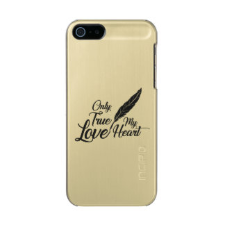 Illustrations-wahre Liebe-Feder Incipio Feather® Shine iPhone 5 Hülle