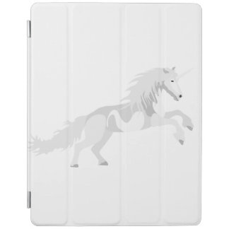 Illustrations-Weiß-Einhorn iPad Hülle