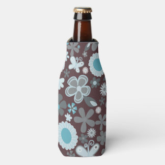 Illustrative Blumen Flaschenkühler