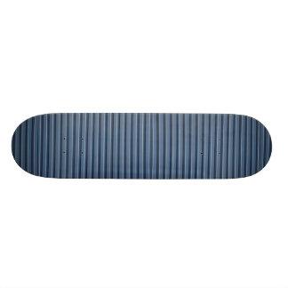 Illustratives blaues Aluminiumabstellgleis 20,1 Cm Skateboard Deck