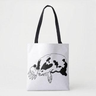 Illustrierte Taschentasche der ursprünglichen Mole Tasche