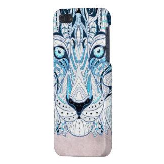 illustrierter blauer Löwe iphone Kasten iPhone 5 Schutzhülle