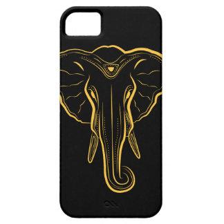 Illustrierter Elefant-Telefon-Kasten iPhone 5 Schutzhüllen