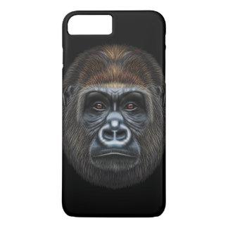 Illustriertes Porträt des Gorillamannes iPhone 8 Plus/7 Plus Hülle