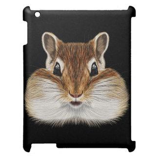 Illustriertes Porträt von Chipmunk. iPad Hülle