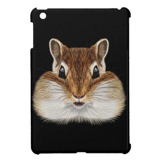 Illustriertes Porträt von Chipmunk. iPad Mini Hülle