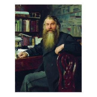 Ilya Repin-Porträt des Historikers u. des Postkarten