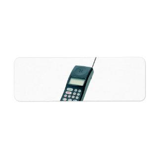 im altem Stil Handy Kleiner Adressaufkleber