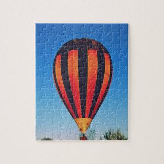 Im Ballon aufsteigen im Hinterland Puzzle