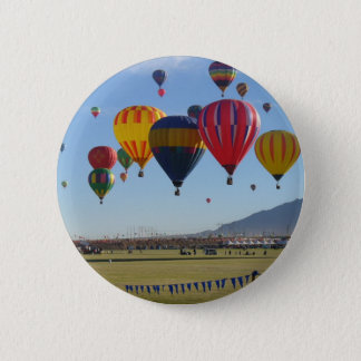 Im Ballon aufsteigen Runder Button 5,7 Cm