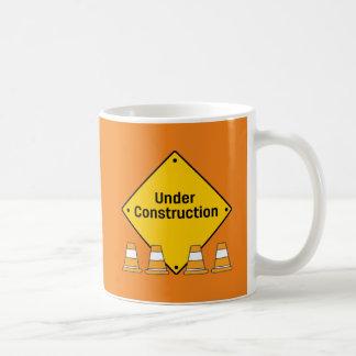 Im Bau mit Kegeln Kaffeetasse