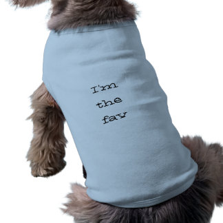 Im das Fav Hundekleid Ärmelfreies Hunde-Shirt