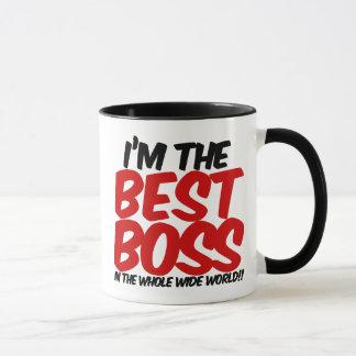 im der beste Chef in der ganzen weiten Welt Tasse