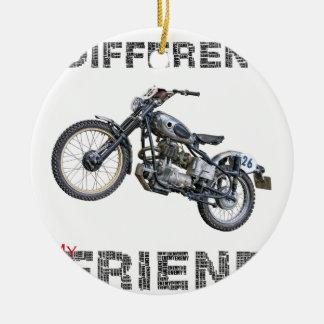 Im different Motorrad Keramik Ornament