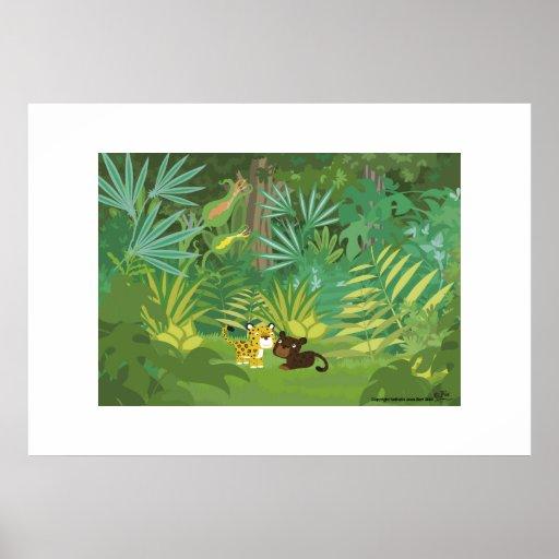 Im Dschungel Poster