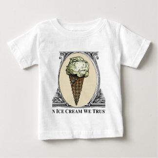 Im Eis Crean vertrauen wir Baby T-shirt