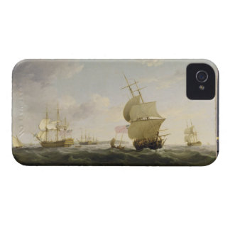 Im englischen Kanal versenden, c.1755 (Öl auf Ca Case-Mate iPhone 4 Hülle