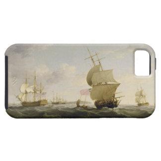Im englischen Kanal versenden, c.1755 (Öl auf Ca Schutzhülle Fürs iPhone 5