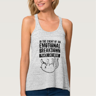 Im Falle der emotionaler Tanktop
