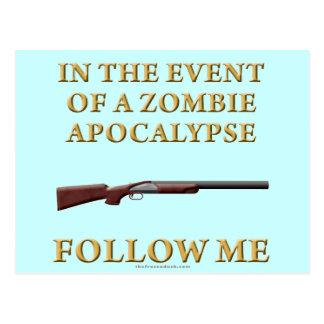 Im Falle einer Zombie-Apokalypse Postkarten