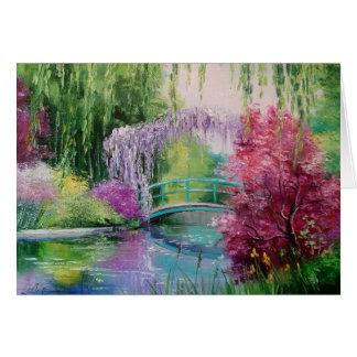 im Garten von Monet Karte