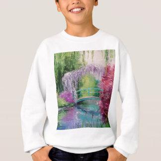 im Garten von Monet Sweatshirt