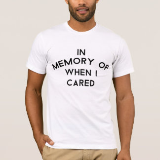Im Gedächtnis… Das T-Shirt der Männer