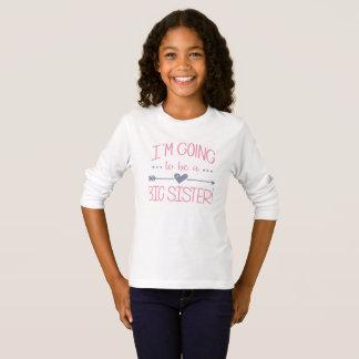 Im gehend, eine große Schwester-T-Shirts zu sein - T-Shirt