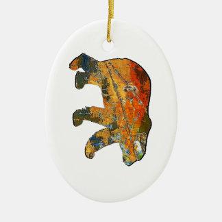 Im Großen Schritt Keramik Ornament