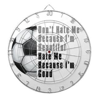 Im guter Fußball schönes Im Dartscheibe