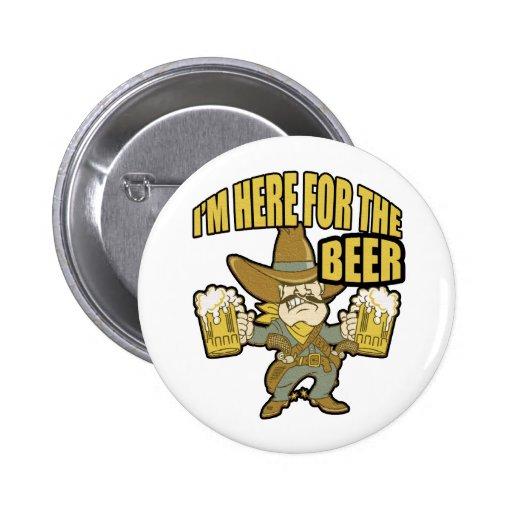 Im hier für das Bier-lustige trinkende Geschenk Anstecknadel