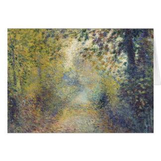 Im Holz durch Pierre-Auguste Renoir Karte
